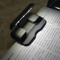 Wholesale Portable Mini LED Traveling Clip on Folding Travel Book Read Reading Light Lamp for Pocketbook Kindle Nook Kobo Ebook Readers
