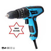 Wholesale 220V Silent Electric Screwdriver Drill Parafusadeira with Adjustable Torque Setting Power tools