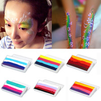 Wholesale Makeup Cosmetic g Multicolor Face Body Art Paint Water soluble Halloween Party Makeup Tool