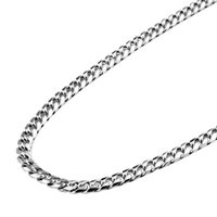 Wholesale JPF silver men s water ripple chain necklace chain men domineering necklace Silver Chain