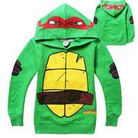 baby turtle costumes - Teenage Mutant Ninja Turtles Baby Kids Boys Tops T Shirt Hoodie Pullover Costume