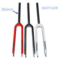 Wholesale Java full carbon fiber carbon fiber er hard mountain bike fork Carbon saddle carbon frame seatpost Handle