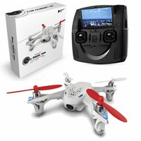 Wholesale New Hubsan H107D FPV X4 G CH Axis RC Aircraft Quadcopter With HD Camera Transmitter RTF Mode