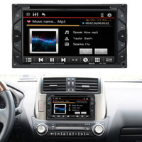 Wholesale 6 quot Din HD Touch Car DVD Player Stereo Bluetooth FM Radio USB SD Camera Input MP3 WMA MP4 MP5 Russ Portuguese Spanish French