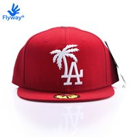 Wholesale BLVD Supply Original Snapback Baseball Cap Red LA Palm Adjustable Cap Hip Hop Swag Casquette Men Gorras Beisbol Bone Last Kings NY AJ Bulls