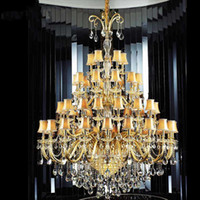 Extra Large Chandeliers UK | Free UK Delivery on Extra Large ...:Cheap large crystal chandelier with fabric cover gold large hotel chandelier  glass arm large modern crystal,Lighting