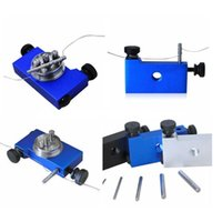 Cheap Professional ecig heating wire coil tool winding machine coil jig for make 1.5 2.0 3.0 3.5mm aba rba DIY RDA atomizer of Mechanical box mod