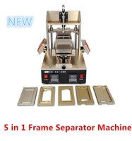 bezel remover - 5 in For Samsung iPhone Bezel Middle Frame Separate Machine LCD Touch Screen Separator lcd glue remover machine hot Plate
