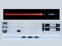 Wholesale EMS Star Wars Weapons kids toys lightsaber many colors change Star Wars attachable lightsaber adult fans gifts cosplay B