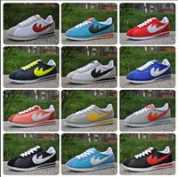 Wholesale Hot new brands New men and women cortez shoes leisure Shells shoes Leather fashion outdoor Sneakers size