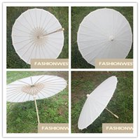 Wholesale Paper Umbrella DIY Umbrella Paper Umbrella Hot White and DIY Umbrella Fashion Handmade Umbrella by Painting