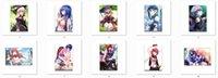 anime yume - Grimgar of Fantasy and Ash anime Characters shihoru yume Custom poster hai to gensou no grimgar merry canvas painting