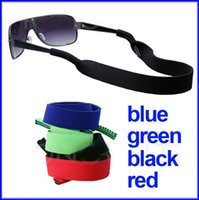 Wholesale Glasses Neoprene Sunglasses Straps High Quality Outdoor Toggle Sports Retainer Cord String Colors DHL Shipping