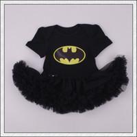 baby superman - New arrival Baby infant toddler Superman Superwomen romper Onesies Dress tutu skirt lace short chiffon ruffles Batman Pajamas PJ S bodysuits