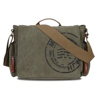 Wholesale 2015 Hot Sale Veevan Vintage Men Messenger Bags Canvas Shoulder Bag Men Business Bag Printing Travel Bag