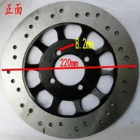 atv disk - Brake disc Dirt pit bike disk ATV quad off road motorcycle mm round shape holes front rear brke disc order lt no track