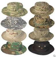 bdu caps - US Marine Military Army Round Sun Bonnet fishing Hats BDU Combat Boonie Hat Cap Colors