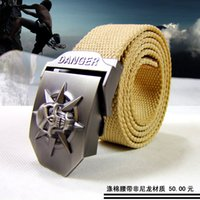 cotton belts - HongKong OLG YAT high grade polyester cotton fiber military belt leisure outdoor special necessity joker belt