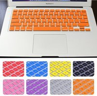 Wholesale 2015 US version Silicone Keyboard Skin Cover Film For Apple Macbook Pro Retina quot quot quot Protector Cover for Mac book Air