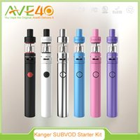 battery deal - Hot Deals Kanger SUBVOD Starter Kit Pyrex Glass Tank ml Capacity mAh SUBVOD battery with ohm replaceable OCC coil