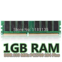 US $7.29 / piece US $6.12 / piece 1 day left Bulk Pr US $5.00 off per US $200.00close 1GB DDR333 MHz PC2700 Non-ECC Laptop Desktop PC DIMM Memory RAM 184 Pins New