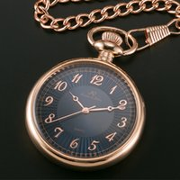 cheap rose gold pocket watch shipping rose gold pocket ks pocket watch blue dial rose gold alloy case mechanical unisex fashion classical casual watch ksp057