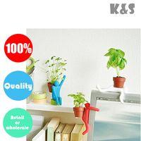 Wholesale Retail or colorful funny DIY Ecological taste mini desktop planter pot desktop bonsai christmas gift decoration