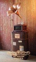 Wholesale Vintage photography props studio props Large graphophone canducum model props