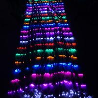Bon Marché Rgb led net-Meshwork 6W LED Net chaîne lumières de Noël éclairage 1.5mx1.5m / 3mx2m / 6mx4m LED Light Lamp for Party Decoration de Noël Lumière RoHs CE