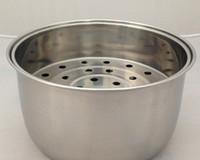 Wholesale 3L stainless steel non stick inner pot steam basket steam tray pan steam basket kitchen appliance parts set