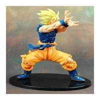 Wholesale Japanese anime Dragon Ball Z inch cm Son Goku PVC toy model action figure doll for kid toy gift
