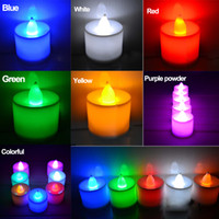 Wholesale Zorn store LED Electronic candle Smokeless candles Birthday candles wedding packages