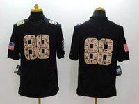 Cheap Football Black Salute TO Service Best Men Short football jersey
