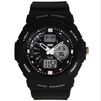 Wholesale Hot Skmei Men Sports Watch Military LED Quartz Wristwatches Digital And Analog Multi Quartz Wristwatches rubber strap relogio masculino