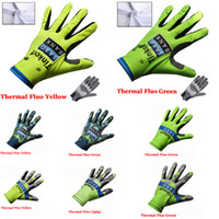 Wholesale 2015 Tinkoff Saxo Bank cycling long finger gloves winter thermal fleece mountain bike gloves mtb bike riding sport wearing style