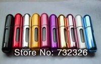 Cheap Plastic aluminum perfume Best Air Aluminum Metal 14 colors travel perfume