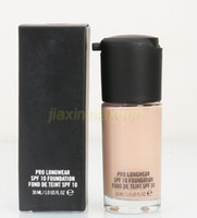 Wholesale Hot sale Professional Makeup Liquid Foundation PRO LONGWEAR SPF FOUNDATION FOND DE TEINT SPF ML
