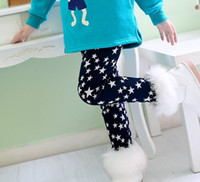 Wholesale Korean Style Child Milk Wire Velvet Warmth Leggings Kids Legging Skinny Tights Girls Tights Navy Leooard Houndstooth Colorful Hearts E0866
