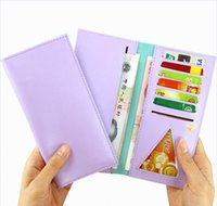 Wholesale 2015 Hot Sale Candy Color Multi card Bit Wallets Card Holder For Women PU Leather Ladies Wallet Fashion Card Holder Colors