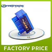 Wholesale Mini ELM327 V2 OBD2 Diagnostic Scanner tool support all obd protocls with free shpping