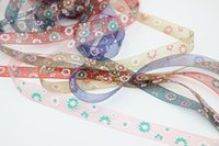Wholesale Spread the formidable tool multicolor printing ribbon bow clothing accessories tire