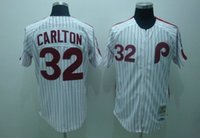 Wholesale Phillies Baseball Jerseys Men CARLTON white stripe Camo Green Blue Jerseys stitched Top quality Mix Order Free Fast Shipping