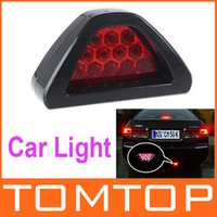 Wholesale F1 Style LED Car Brake Reverse Lamp Vehicle Warning Strobe Flash Light Red Vehicle Led Lighting