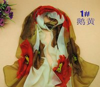 Wholesale 2014 Women Infinity Scarf New Color Arrived Yellow Neon Leopard Snood Lime Color Snood Colors Mixed Retail