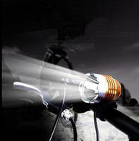 Wholesale 1800LM DC Powered LED CREE L2 U2 Charging Cycling Bycicle headlight Accessories T6 Light Head lamp farol bike flashlight