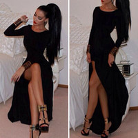 Wholesale 2015 New Fashion Women Spring Autumn Long Sleeve Dress Bodycon Party Dress Sexy Bandage Vestido de festa Short Dresses Gift XA0099