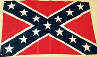 Wholesale Printed Flag Confederate Rebel Civil War Flag National Polyester Flag Banner X FT D by DHL