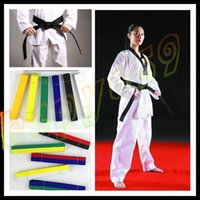 Wholesale free ship M long martial arts belt Karate Taekwondo Judo Jiujitsu tae kwon do belt Karate Taekwondo tape