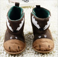 baby christening shoes boys - caitoon Russian Baby boys and girls pairs Stride Rite First Walker infant prewalker Baby Crib Shoes Christening shoes on sale drop ship