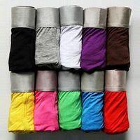 Wholesale Newest Brand Men s Cool Steel Underwear Boxer Brief Trunk Size M L XL XXL Men s underwear Underpants